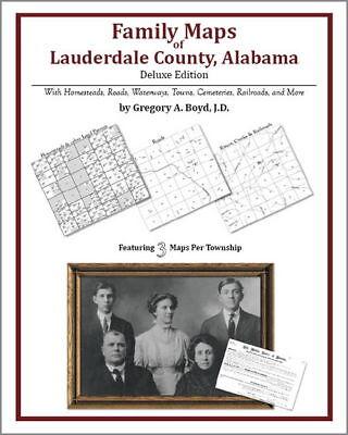72d323d13952d Family Maps Lauderdale County Alabama Genealogy AL Plat