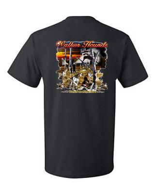 T-shirt Shirt Coon Hound Coonhound Hunter Hunting Dog Walker Lights Night Move