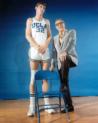 Ucla Coach John Wooden   Bill Walton Glossy 8X10 Photo Basketball Print Poster