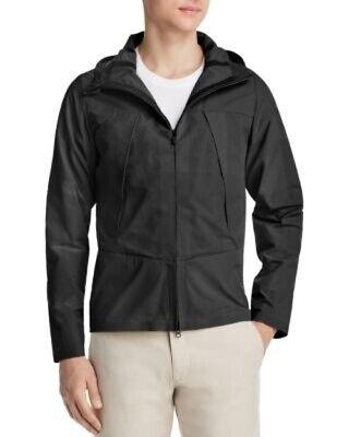 NWT Men's DESCENTE ALLTERRAIN Schematech Air Hooded Jacket, Large, Black