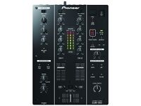 Pioneer DJM-350 FX Mixer with Direct USB Record 2 month old £250