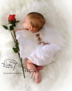 Looking For White Feather Angel Wings For Baby!