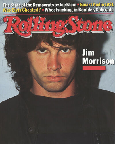 Jim Morrison Rolling Stone Magazine Cover Poster Print