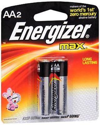 Energizer E91bp-2 Aa Alkaline 2 Pk Batteries 2aa Energizer