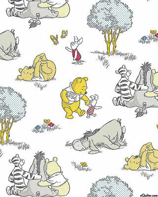 Cotton Winnie The Pooh Crib (Winnie the Pooh and friends   cotton crib fitted sheet )