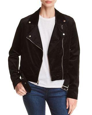 Exclusive Velvet Jacket - PAIGE Shanna Corduroy Velvet Jacket Black Velvet Cord 100% Exclusive XS ($295) N