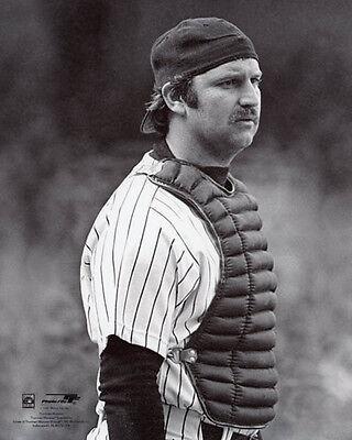 New York Yankees THURMAN MUNSON Glossy 8x10 Photo Baseball Print Photograph