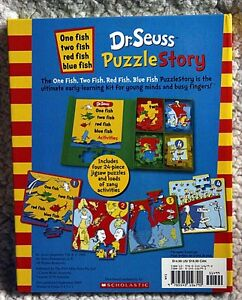 NEW - Dr. Seuss Puzzle Story: One Fish Two Fish Red Fish Blue Fi Kingston Kingston Area image 2