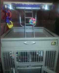 Large cage for parrot very good condition
