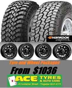 Mud tyres and wheel packages specials from $1099 Tingalpa Brisbane South East Preview