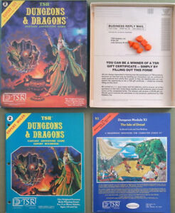 Buying: Dungeons & Dragons and RPG books and collections