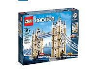 Lego tower bridge brand new and sealed