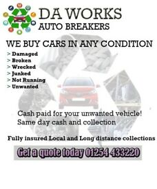 ♻️♻️ Wanted scrap cars and Non ferrous Metals for cash, Sell your Car Or Van for Cash, ♻️♻️
