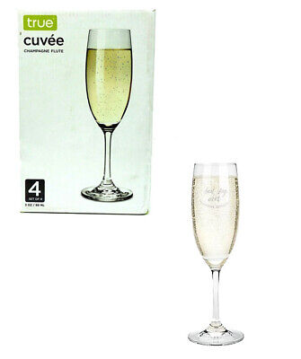 Best Champagne Glasses (Best Day Ever Champagne Glass, Clear Rose, 3 oz Set of 4 glasses for Sparkling)