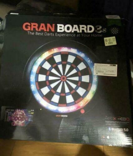 Gran Board 3s Green LED Bluetooth Online Electronic Dartboard Mint