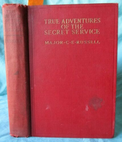 WWI True Adventures of the Secret Service British Military Police Force  Book
