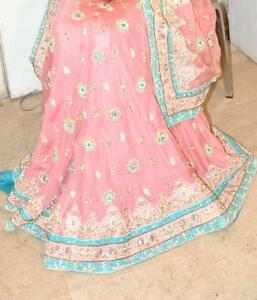 Heavy pink color indian traditional Lehanga