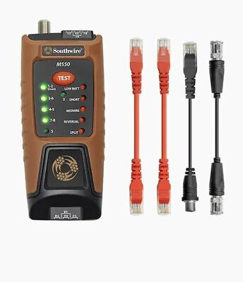 Southwire Data Video Cable Tester M550 Specialty Meter Detects Wiring Faults