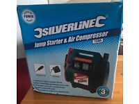 SilverLine Air Compressor & Jump Starter