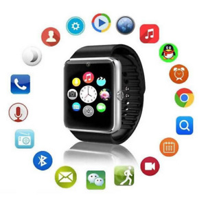 GT08 Bluetooth Smart Watch with SIM Card Slot and NFC Health Wat