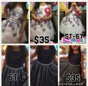 Beautiful toddler dresses like new worn once (price reduced)