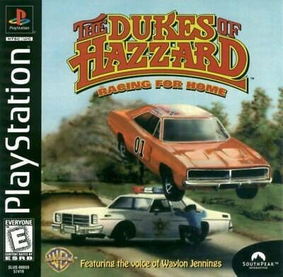 Dukes Of Hazzard Racing For Home - PS1 PS2 Playstation ()