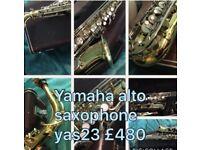 Yamaha alto saxophone vgc