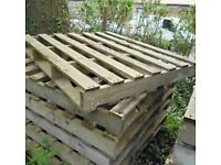 Looking for wooden pallets for nursery project