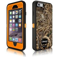 Iphone SE Blaze orange and camo otter box