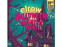 4 X Elrow Haunted Halloween Tickets, Edinburgh