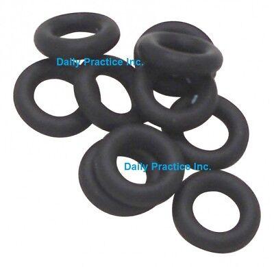 Deldent Dental Ultrasonic Insert O-rings Black Pkg12 Mfg 508006