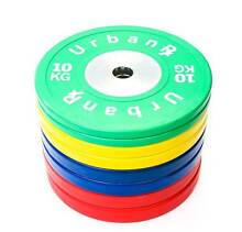 Brand New 140kg Olympic Bumper Plate Set Crossfit Weightlifting Sydney City Inner Sydney Preview