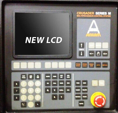 Lcd Monochrome Monitor Upgrade For 9-inch Anilam Crusader With Cable Kit