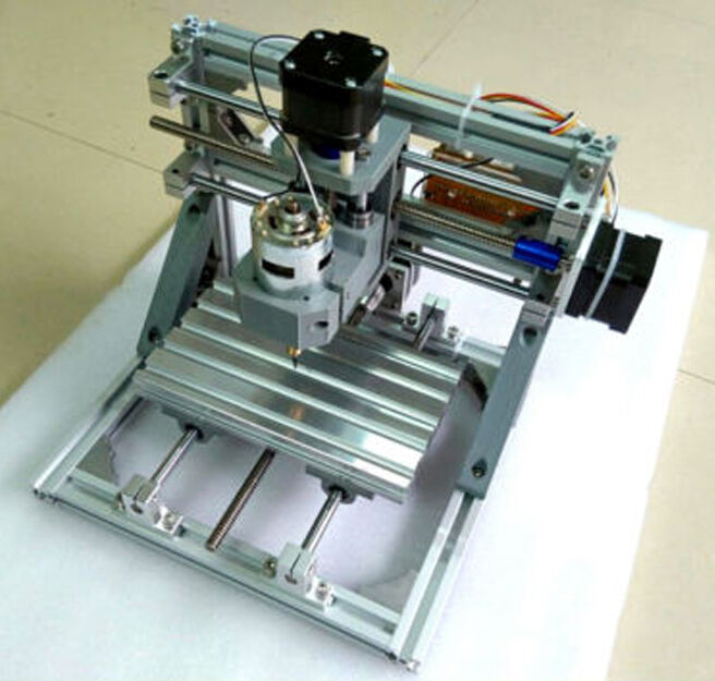 NEW DIY 3 Axis Engraver Machine Milling Wood Carving Engraving Kit CNC
