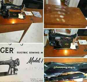 Works perfectly 1950s sewing machine