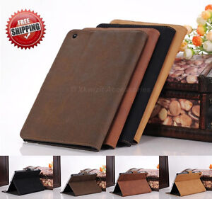 Luxury Smart Stand Leather Case Cover for iPad 2 3 4 Retina Display