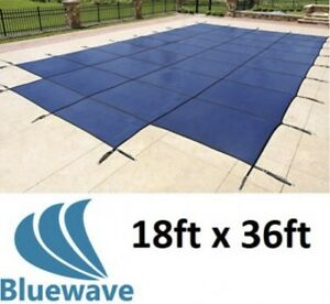 New Safety Pool Cover 18x36'
