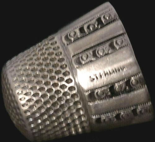 Vintage / Antique Sterling Silver Thimble