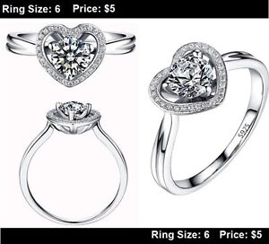 **BRAND NEW** Promise Rings LOTS TO CHOOSE FROM Kitchener / Waterloo Kitchener Area image 8