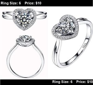 **BRAND NEW** Engagement Rings Promise Rings LOTS TO CHOOSE FROM Kitchener / Waterloo Kitchener Area image 9