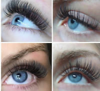 Eyelash Extensions for 45( call and book your appointment )