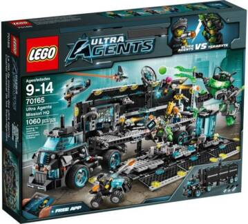 LEGO 70165 Ultra Agents Mission HQ (Brand New) RETIRED SET Indooroopilly Brisbane South West Preview