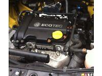 1.0 CORSA D 12V PETROL 2011 ENGINE A10XEP 2006-15