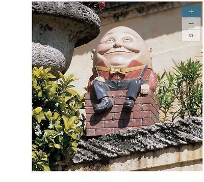 Outdoor Lawn Patio Home Welcome Garden Yard Statue Sculpture Art Decor Humpty