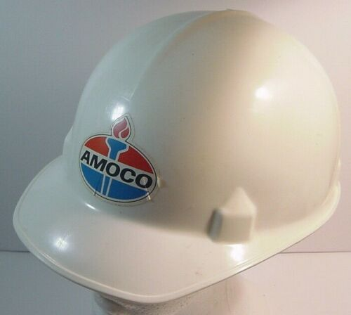 AMOCO Oil Safety Helmet-Extra Clean