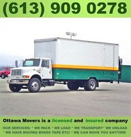 Ottawa's Best Moving Service Company Call:(613) 909 0278