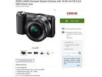 Sony a5000 Camera BRAND NEW