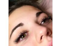 SEMI PERM LUXURY EYELASH EXTENSIONS - (MINK/SILK/CASHMERE)