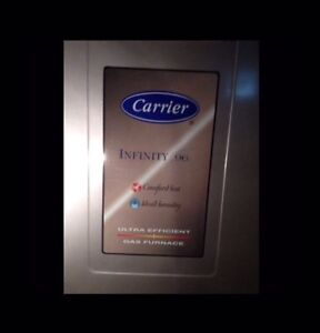 Carrier infinity 96 Ultra Efficient Gas Furnace