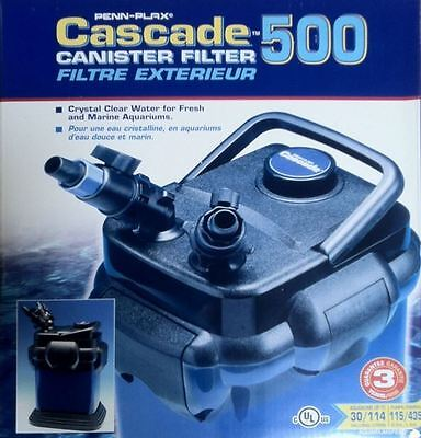Cascade 500 Canister Filter - Cascade 500 Aquarium Canister Filter